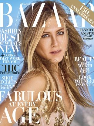 US Harper's Bazaar October 2017 : Jennifer Aniston by Mariano Vivanco