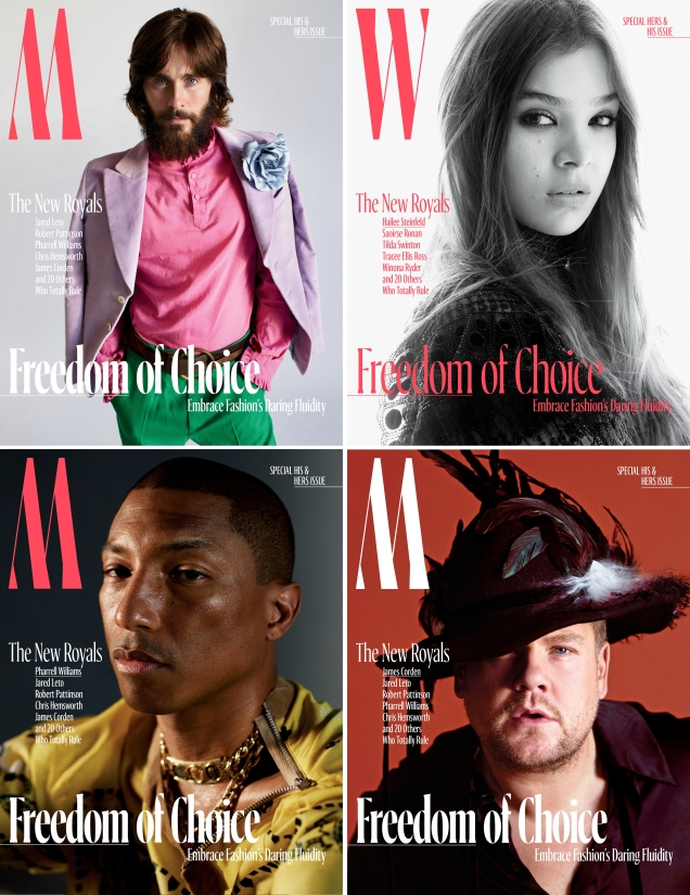 W October 2017 : The New Royals by Mario Sorrenti