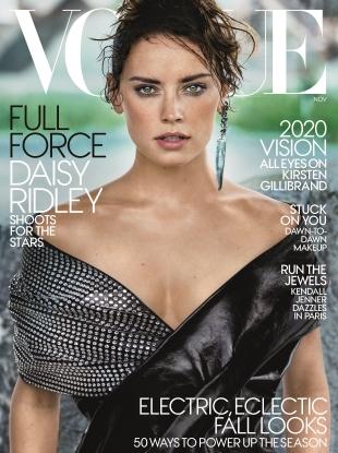 US Vogue November 2017 : Daisy Ridley by Mario Testino