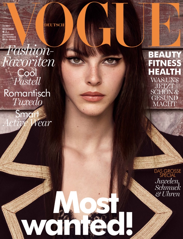 Vogue Germany November 2017 : Vittoria Ceretti by Luigi & Iango