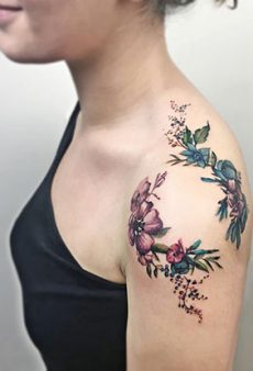 Beautiful Shoulder Tattoos to Inspire Your Next Ink Session