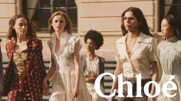 Chloé S/S 2018 by Steven Meisel