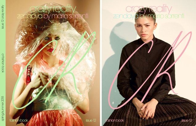 CR Fashion Book #12 : Cardi B by Petra Collins & Zendaya by Mario Sorrenti