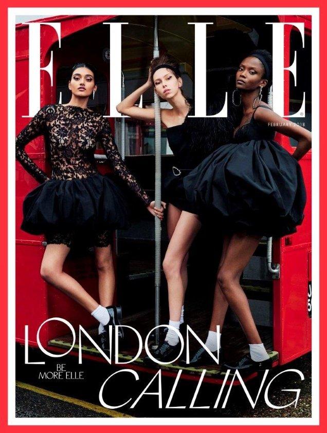 UK Elle February 2018 by Liz Collins