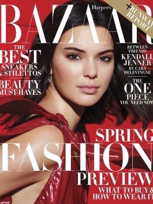 US Harper's Bazaar February 2018 : Kendall Jenner by Solve Sundsbo
