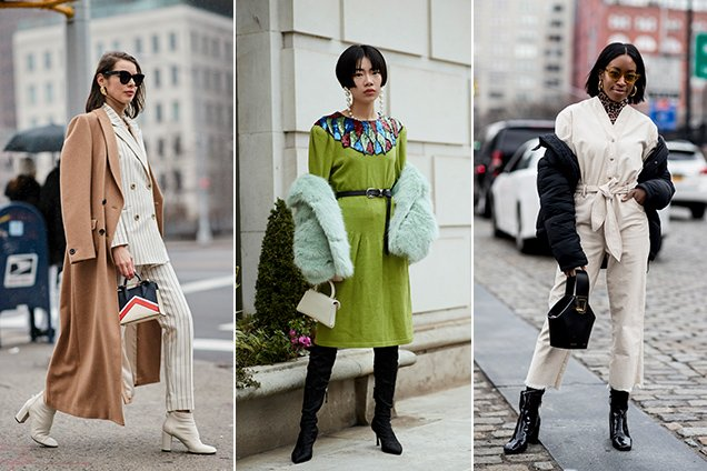 The street style crowd has a thing for top-handle micro bags