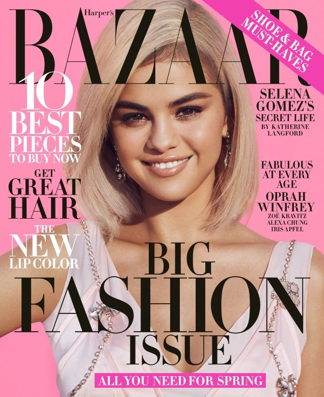 US Harper's Bazaar March 2018 : Selena Gomez by Alexi Lubomirski