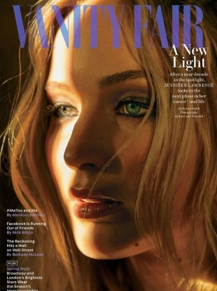 Vanity Fair March 2018 : Jennifer Lawrence by Inez & Vinoodh