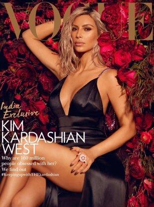 Vogue India March 2018 : Kim Kardashian West by Greg Swales