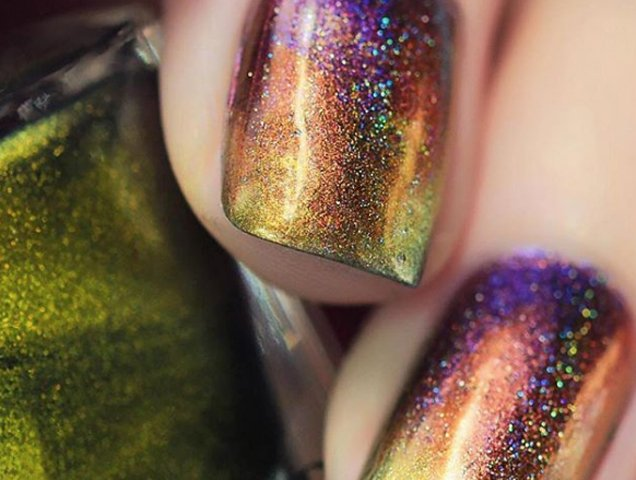 Holographic Nail Polishes That Outshine Any Glitter Polish Thefashionspot