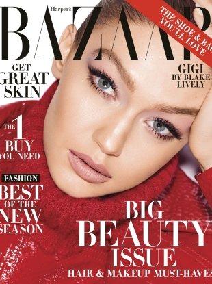 US Harper's Bazaar May 2018 : Gigi Hadid by Mariano Vivanco