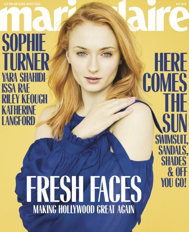 US Marie Claire May 2018 : Fresh Faces by Erik Madigan Heck