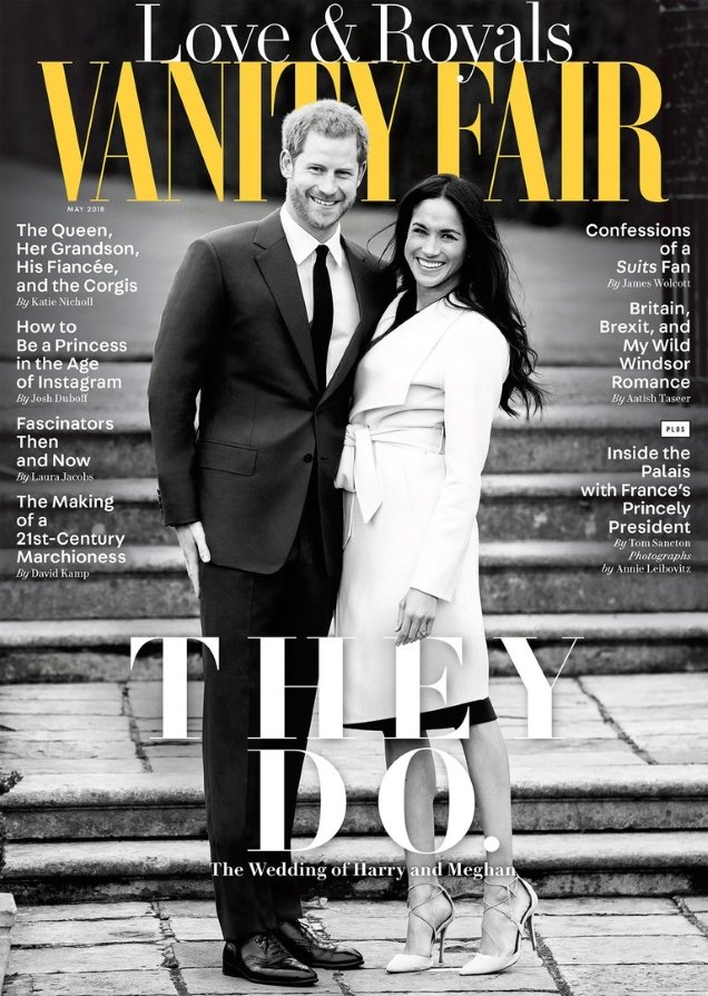 Vanity Fair May 2018 : Prince Harry & Meghan Markle