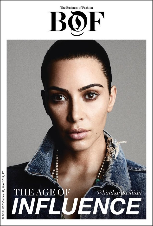 BoF #11 May 2018 : Kim Kardashian by Ben Hassett