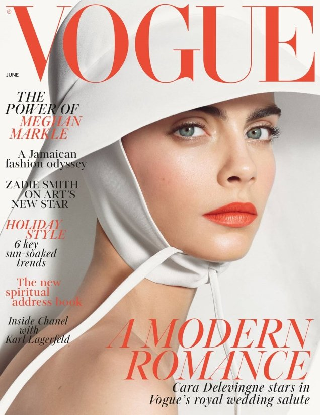 UK Vogue June 2018 : Cara Delevingne by Steven Meisel