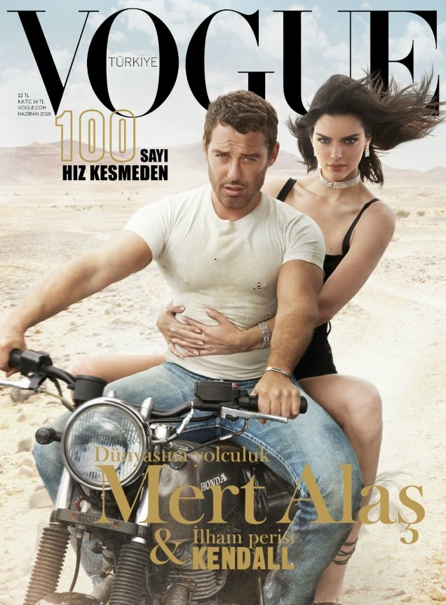 Vogue Turkey June 2018 : Kendall Jenner & Mert Alas by Marcus Piggott