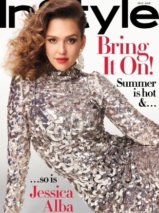 US InStyle July 2018 : Jessica Alba by Anthony Maule