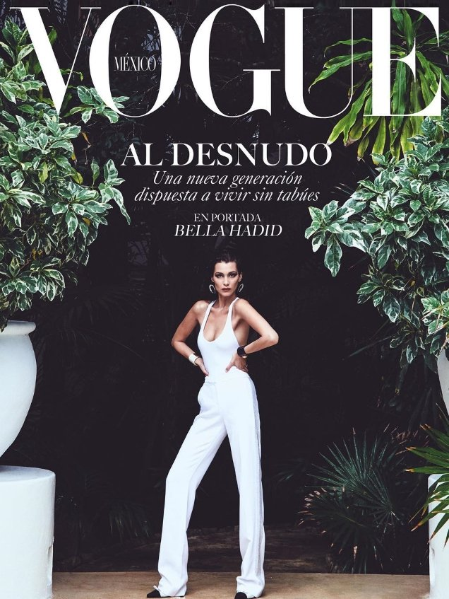 Vogue Mexico & Latin America July 2018 : Bella Hadid by Chris