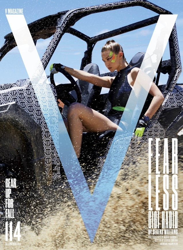 V Magazine #114 Fall Preview : Gigi Hadid by Mario Sorrenti