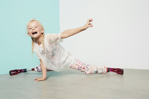 Double amputee Daisy-May Demetre for River Island