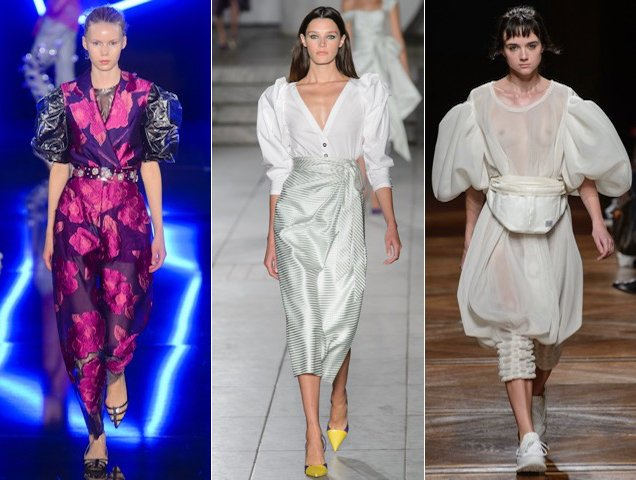 Puff sleeves were hard to miss on the Spring 2018 runways.