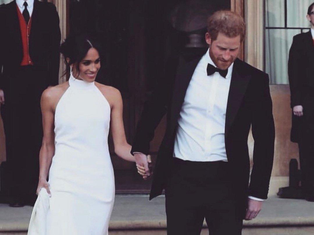 Stella McCartney Opens Up About Designing Meghan Markle s Wedding Reception  Dress - theFashionSpot 8a75e38fb