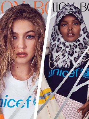CR Fashion Book #13 F/W 2018.19 : Halima Aden & Gigi Hadid by Pieter Hugo