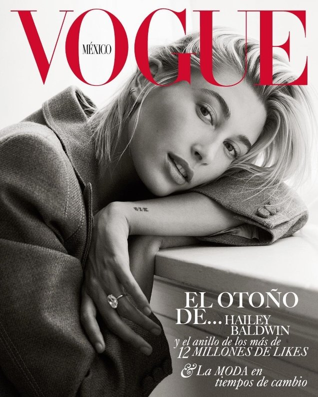 Vogue Mexico September 2018 : Hailey Baldwin by Bjorn Iooss