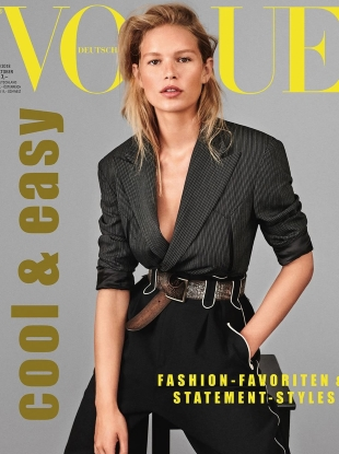 Vogue Germany October 2018 : Anna Ewers by Giampaolo Sgura