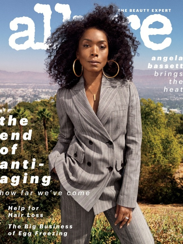 Allure November 2018 : Angela Bassett by Sharif Hamza