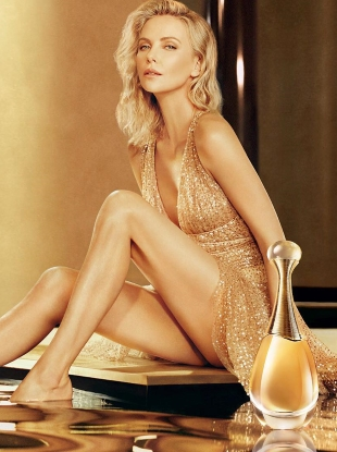 Christian Dior 'J'adore' Fragrances : Charlize Theron