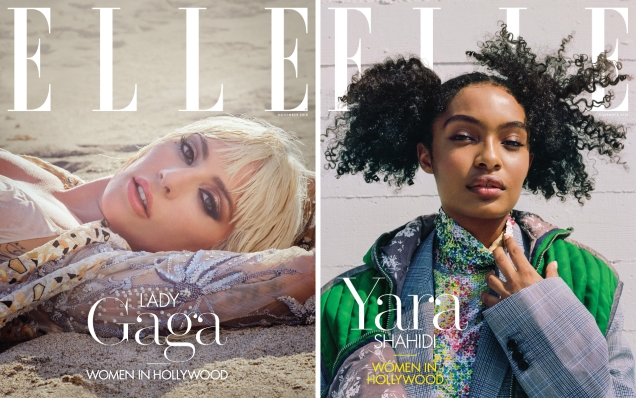 US Elle November 2018 : The 'Women In Hollywood' Issue