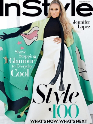 US InStyle December 2018 : Jennifer Lopez by Anthony Maule