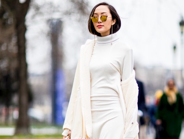 c68d67fe0be 30 Street Style Ways to Wear Your Winter Whites - theFashionSpot