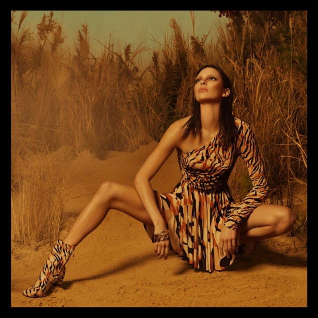 Roberto Cavalli S/S 2019 : Kendall Jenner by Mert Alas & Marcus Piggott