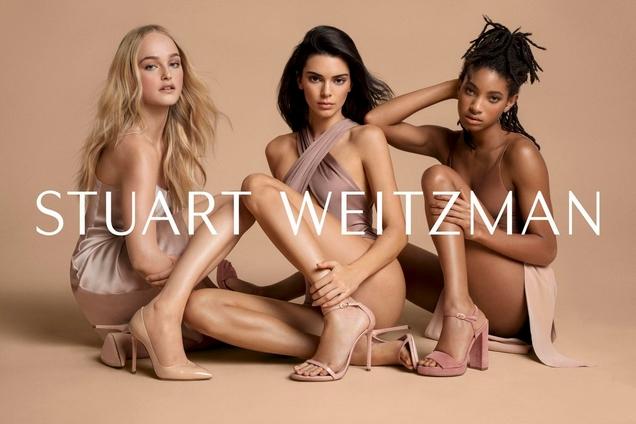Stuart Weitzman S/S 2019 by Inez van Lamsweerde & Vinoodh Matadin  Kendall Jenner and Willow Smith Join a 'Random' Cast for Stuart Weitzman's Spring 2019 Campaign stuartweitzman spring19 kendall article2