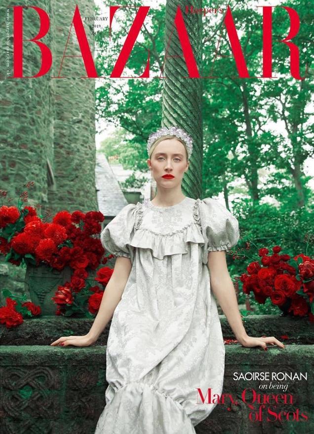 UK Harper's Bazaar February 2019 : Saoirse Ronan by Erik Madigan Heck