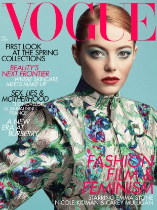 UK Vogue February 2019 : Emma Stone by Craig McDean