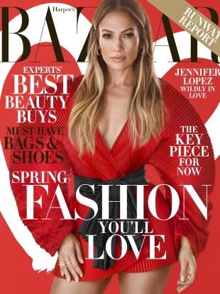 US Harper's Bazaar February 2019 : Jennifer Lopez by Camilla Akrans