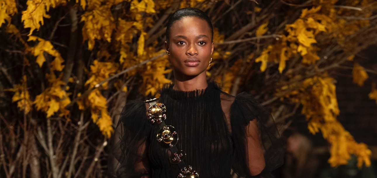 NYFW Fall 2019 Top model Mayowa Nicholas