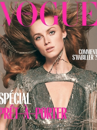 Vogue Paris March 2019 : Rianne van Rompaey by David Sims