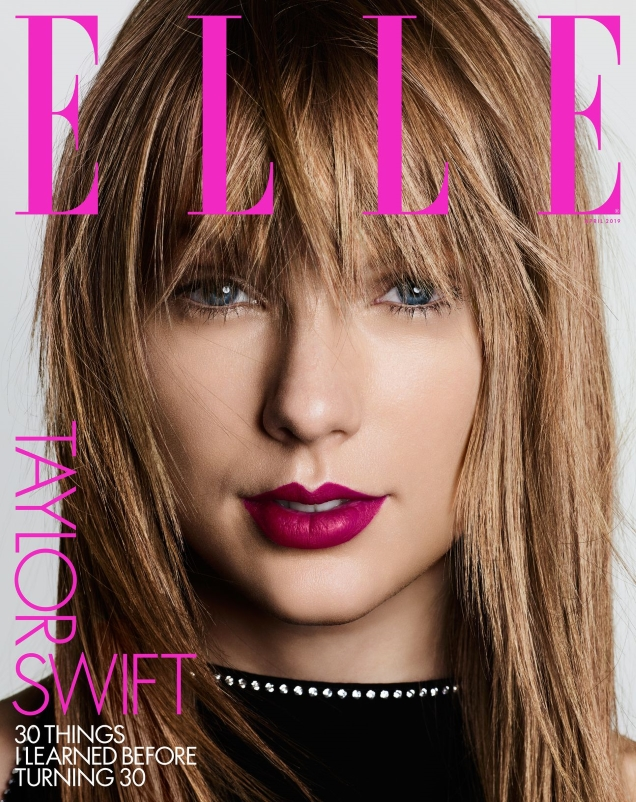 US Elle April 2019 : Taylor Swift by Ben Hassett