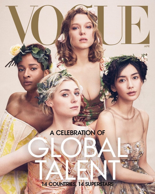US Vogue April 2019 : 'A Celebration of Global Talent' by Mikael Jansson