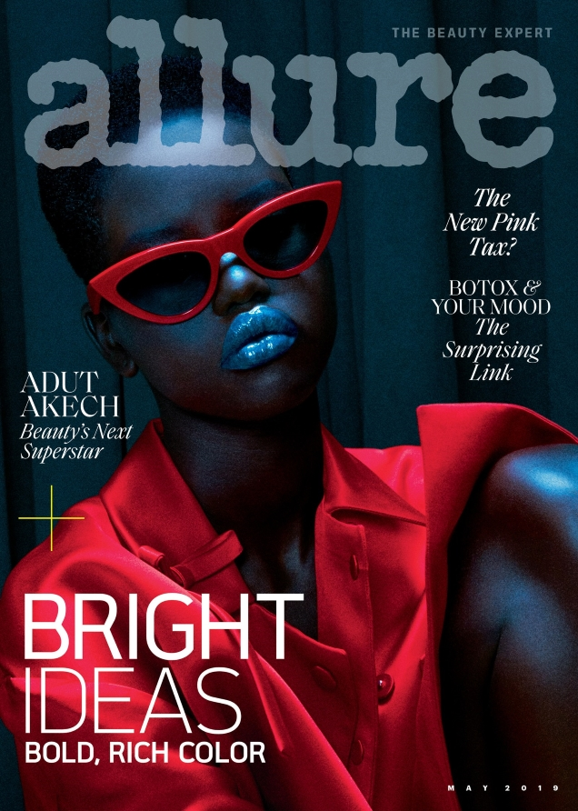 Allure May 2019 : Adut Akech by Daniel Jackson