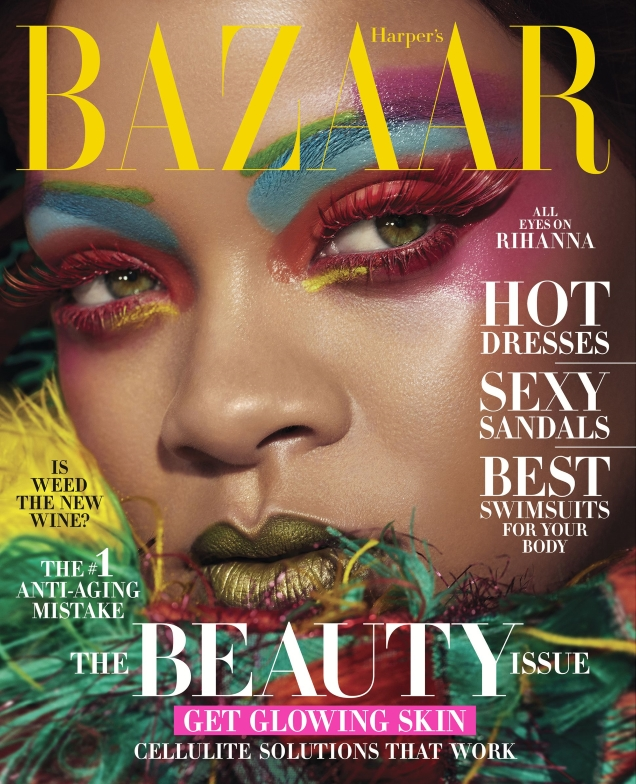 US Harper's Bazaar May 2019 : Rihanna by Dennis Leupold