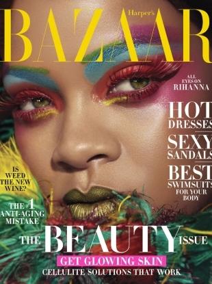 US Harper's Bazaar May 2019 : Rihanna by Dennis Leupold