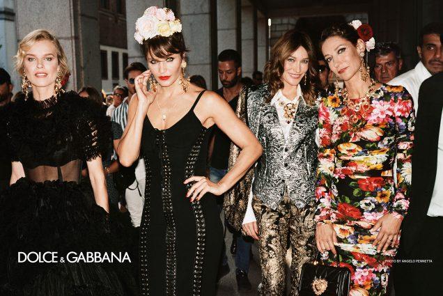 Dolce & Gabbana Spring 2019.