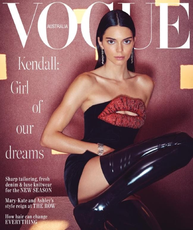 Vogue Australia June 2019 : Kendall Jenner by Charlie Denno