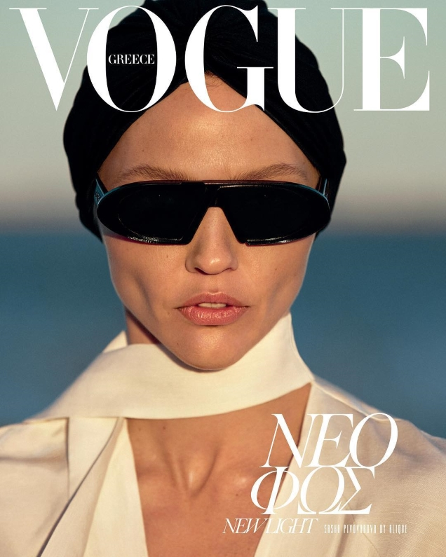 Vogue Greece May 2019 : Sasha Pivovarova by Alique