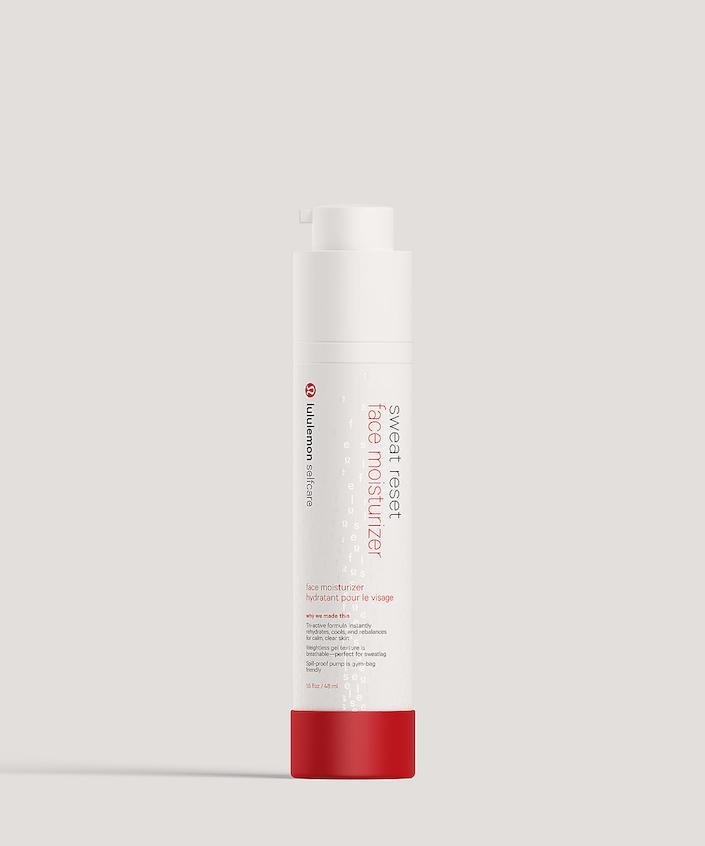 Lululemon Selfcare moisturizer.